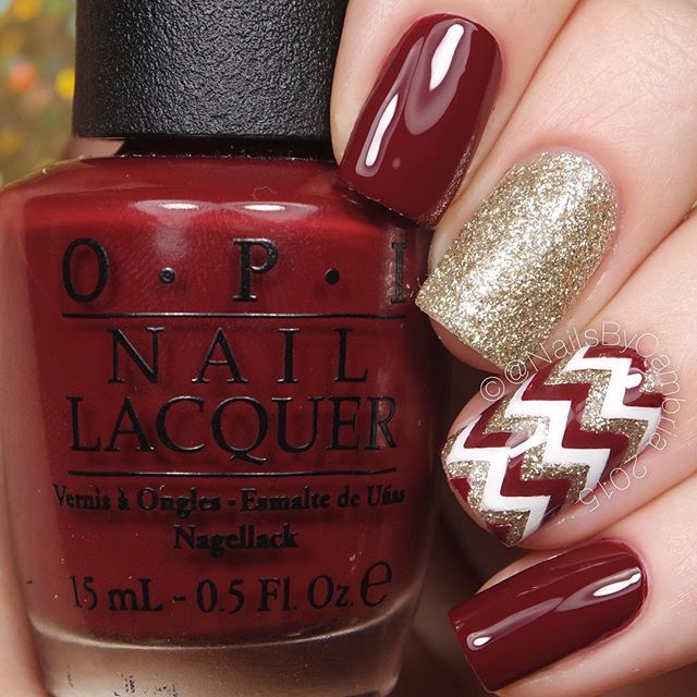 Festive nail art on Instagram to inspire you for the holiday season ...