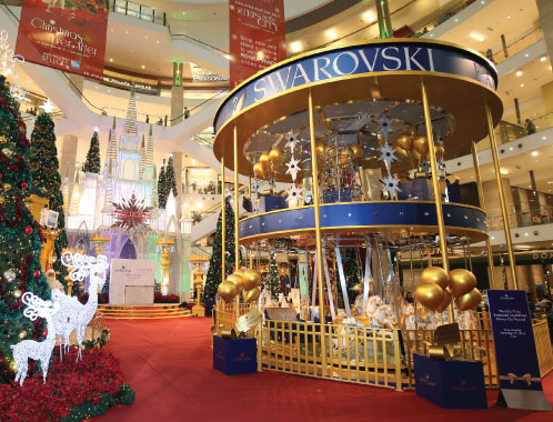 Swarovski Christmas Decorations