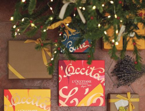 loccitane gift with love christmas promotion