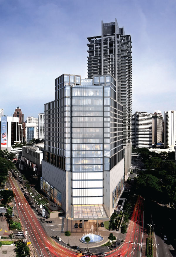 Royale pavilion hotel set to redefine malaysian for Pavilion cost per square foot